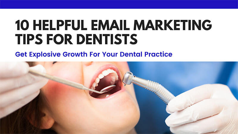 email marketing tips for dentists