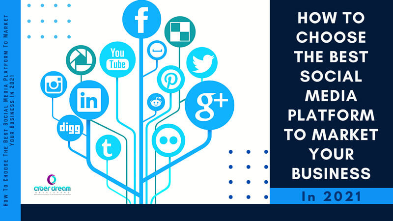 How To Choose The Best Social Media Platform To Market Your Business In 2021